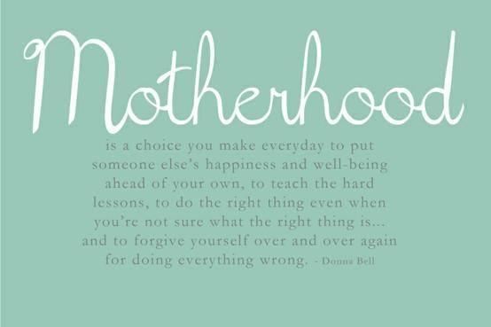 Memories of Mother…