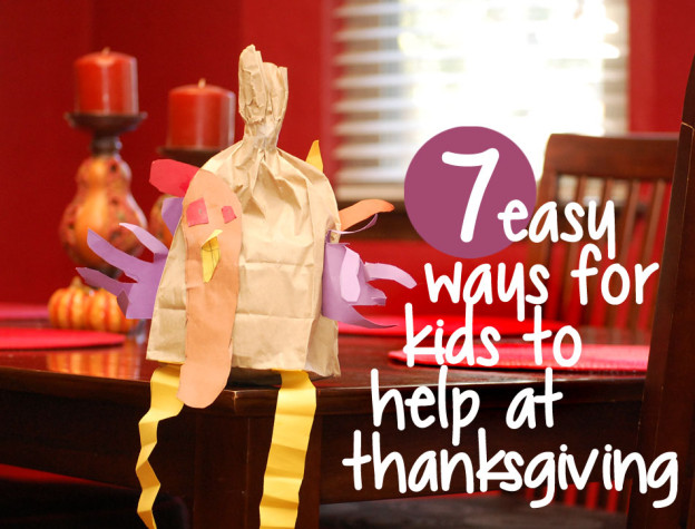 Let The Kids Help At Thanksgiving…