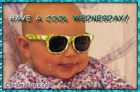 It's Wednesday Baby!