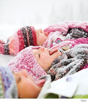 Safe Winter Tips For Kids